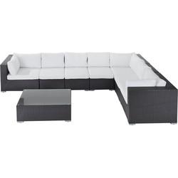 Rotan Lounge - rotanmeubel 26-delig - tuinmeubel wicker - GRANDE