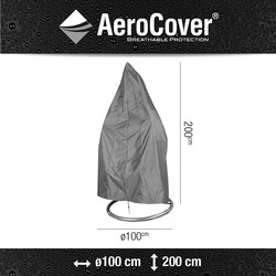 AeroCover hangstoelhoes Ø100x200 cm - antraciet