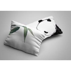 Nightlife - Kussensloop - Panda (2 stuks) - Katoen
