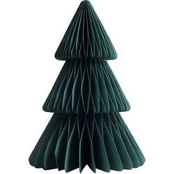 &k amsterdam Kerstboom Papier Groen - 25 x Ø17,5 cm