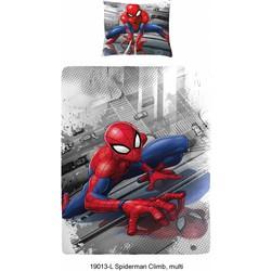 Dekbedovertrek Spiderman Climb - 140x200cm + 1 kussensloop 60x70cm