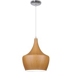 Linea Verdace Hanglamp Tipi Brown Wood - Ø30cm - H38cm