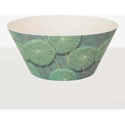 Urban Nature Culture salad bowl bamboo Nymphaea