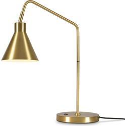 Tafellamp ijzer Lyon, goud
