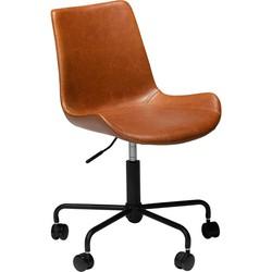 Dan-Form bureaustoel Hype bruin 78-90 x 51 x 44