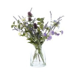 Dickins & Jones Thistle, Anemone & Lavender Arrangement