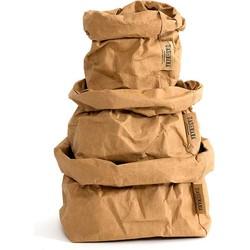 UASHMAMA® Paper Bag Naturel