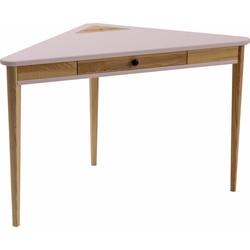 ASHME corner desk roze