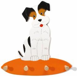 Kapstok Hond Billy Hout  - Weizenkorn