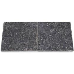 Karia Black Tumbled 20 x 20 x 1 cm