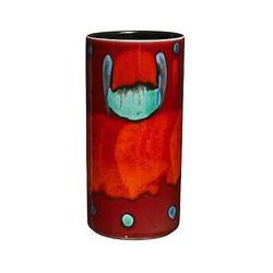 Poole Pottery Volcano Column Vase, 17cm