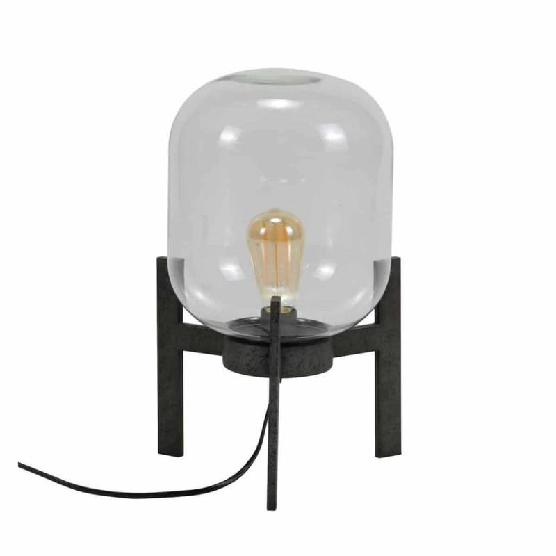 Tafellamp Glass Vintage 44cm  -