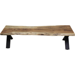 Eetbank SoHo - 180 cm - acacia/ijzer