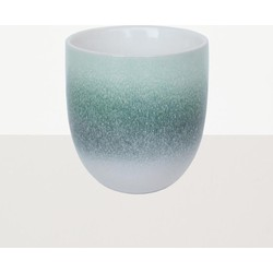 Urban Nature Culture mug reactive glaze Green foam