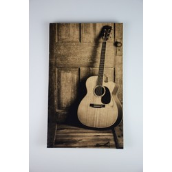 Deco schilderij HG op hout #12 (15cmx25cm)