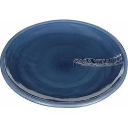 Casa Vivante bord vida maat in cm: 30 blauw