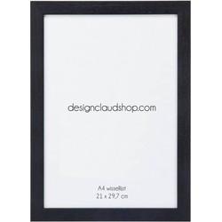Houten wissellijst - Fotolijst - Zwart - A4 formaat