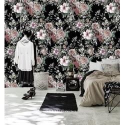 Zelfklevend behang Bloemenprint exotisch multicolour 122x275 cm