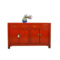 Fine Asianliving Fine Asianliving Antieke Chinees Dressoir Rood  - Dongbei, China