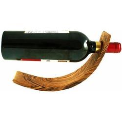 Olivenholz Weinflaschenhalter, »Mond«