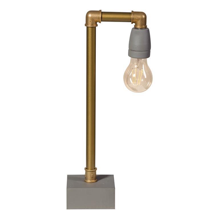 ETH GassedUp Tafellamp messing -