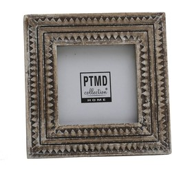 PTMD Luisa grey wooden photo frame b