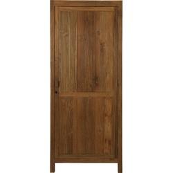 HK-living kast gerecycled teak 1 deur
