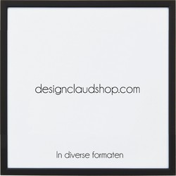 Aluminium wissellijst - Fotolijst - Mat zwart - 20x25 cm