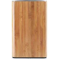 Simplehuman Afvalemmer Open  - Bamboe - 6 l - Bruin