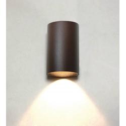 Wandlamp Brody II Bruin Led IP54