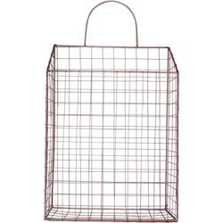 Rosé Tijdschriften Rek-12x26x48cm-Metaal-Housevitamin