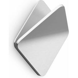 ZACK Olfo Handdoekhaak Vierkant 5,5x2,2x5,5 cm Mat Rvs