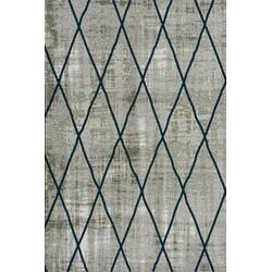 Brinker Feel Good Carpets Cross Silver Blue - 200 x 300 cm