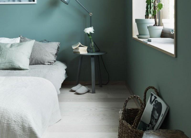 5x slaapkamers waarbij de monochroom trend is toegepast