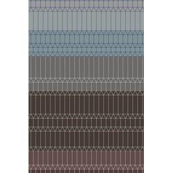 Carpet Moooi Zigzag Neutral - 300 x 400 cm