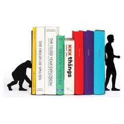 DOIY Boekensteun set Evolutie 2st