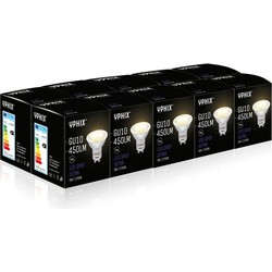 Ten-pack GU10 LED Lamp Ultra 5 Watt dimbaar (Vervangt 50W)