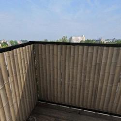 Balkonafscheiding bamboe verticaal (100x250cm Dubbelzijdig)