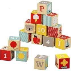 Blokken Alfabet ABC Hout - Petit Collage