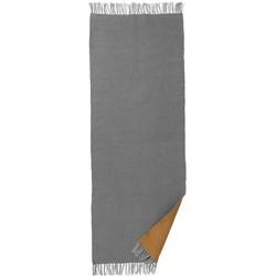 ferm Living - Nomad Teppich large, 70 x 180 cm, curry