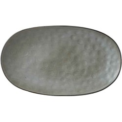 Mica Decorations tabo bord grijs maat in cm: 31 x 18 x 3