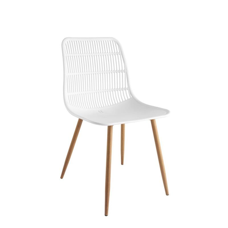 Tamy - Set van 4 stoelen - Wit -