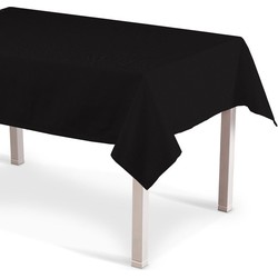 Rechthoekig tafelkleed zwart