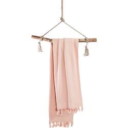 Hamamdoek Soft Cotton 100x180 cm roze