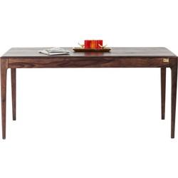 Kare Design - Brooklyn Eettafel - 175x90x76 - Sheesham Hout - Walnoot Kleur
