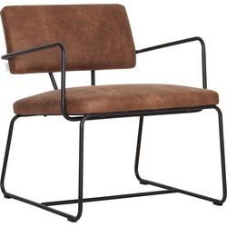 DTP Fox fauteuil cognac