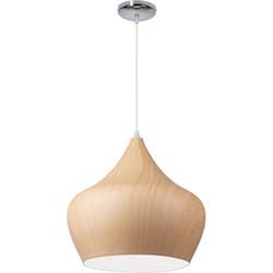 Linea Verdace Hanglamp Tipi White Wood - Ø38cm - H37cm