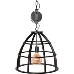 LABEL51 - Hanglamp Fuse 47x47x42 cm - Industrieel - Zwart