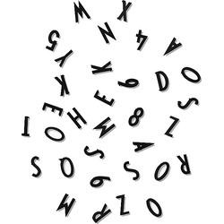 Design Letters Losse Letters 5 cm - Zwart