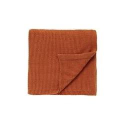 Bedeck 1951 Kaveri knit throw 140x200 spice